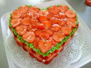 Tort Serdtse Valentina Абрикосовый десерт по немецки