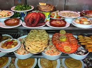 Blyuda ispanskoy natsionalnoy kuhni 2 Блюда грузинской национальной кухни