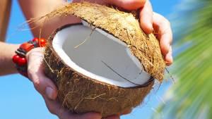 Kak otkryit kokos pravilno i legko Как открыть кокос правильно и легко
