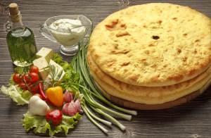 Osetinskie pirogi traditsionnoe blyudo Osetii Кулебяки и пироги с разными начинками