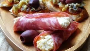 Malenkie chudo buterbrodyi s salyami Итальянский бутерброд