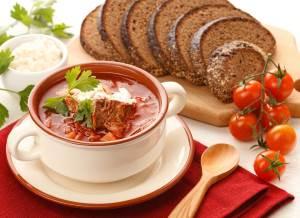 Borshhi domashnie myasnyie Правила общие приготовления первых горячих блюд
