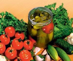 Retseptyi ovoshhnyih zagotovok na zimu Заготовка свежих овощей и фруктов на зиму