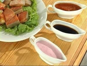 Sousyi k blyudam iz ryibyi i moreproduktam Блюда венгерской национальной кухни