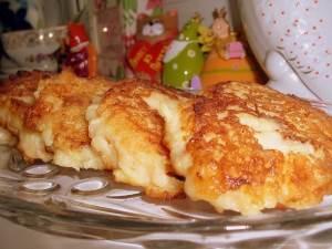 Oladushki s risom i yablokami Овсяное печенье с медом и корицей