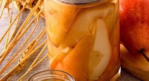 Grushi v sobstvennom soku Заготовка свежих овощей и фруктов на зиму