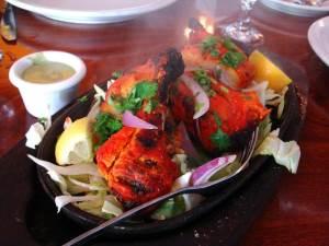 Kuritsa po indiyski tandoori Курица в красном вине