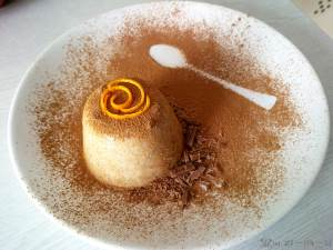 Panakota s pryanostyami Пасха   мороженое с орехами и цукатами
