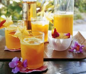 Kokteyl Mangovyiy Serzh Апельсиновый коктейль из мартини и шоколада