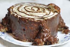 Tort   Truhlyavyiy penek   Торт «Трухлявый пенек»