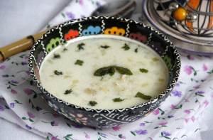 Yogurtovyiy sup s perlovkoy Вениамин Похлебкин