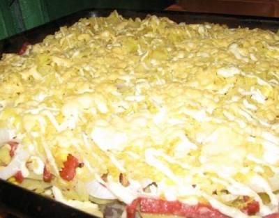 Kartofelnaya zapekanka     vkus detstva Картофельная запеканка – вкус детства