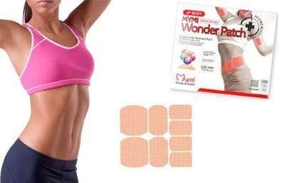 MYMI Wonder Patch     alternativa fizicheskim nagruzkam i dietam Общая физическая подготовка   комплекс упражнений для похудения