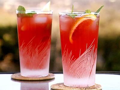 Napitok myatno yagodnyiy Напиток мятно ягодный