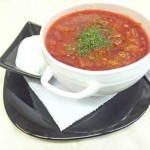 Borshh s midiyami 150x150 Цыпленок под томатным соусом