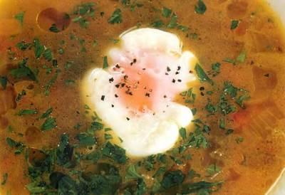 Pashalnyiy yaichnyiy sup Пасхальный яичный суп
