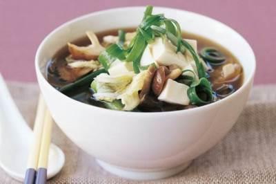 Sup iz tofu tayskiy Суп из тофу тайский