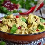 Pryanaya kuritsa v orehovom souse 150x150 Нежный суп пюре из курицы