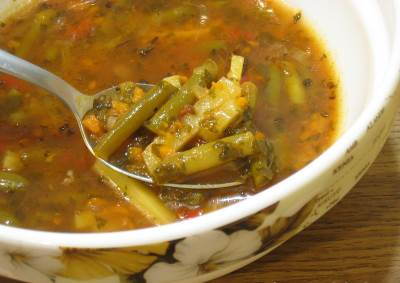 Dieticheskiy zelenyiy sup Диетический зеленый суп