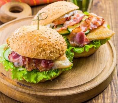 Domashnie ryibnyie burgeryi Домашние рыбные бургеры