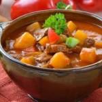 Legkiy supchik iz serdtsa i tushenyih ovoshhey 150x150 Цыпленок под томатным соусом