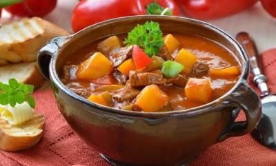 Legkiy supchik iz serdtsa i tushenyih ovoshhey Легкий супчик из сердца и тушеных овощей