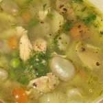 Solyanka iz zelenogo goroha gribov i ovoshhey 150x150 Нежный суп пюре из курицы