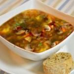 Solyanki s gribami i ovoshhami 150x150 Солянки с мясом или птицей, рыбой или морепродуктами, с грибами и овощами