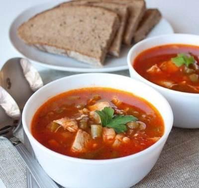 Tomatnyiy sup iz legkogo Томатный суп из легкого