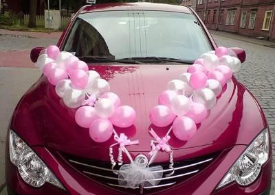Ukrashaem avtomobil k svadbe Украшаем автомобиль к свадьбе
