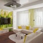 Vesenniy interer dlya gostinoy 150x150 Как подобрать шторы для спальни