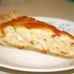 Pirog kish aromatnyiy s krabovyimi palochkami i syirom 150x150 Открытый пирог с грибами и овощами