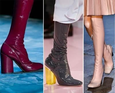 Goryachie obuvnyie tendentsii dlya zhenshhin v zimnem sezone Горячие обувные тенденции для женщин в зимнем сезоне