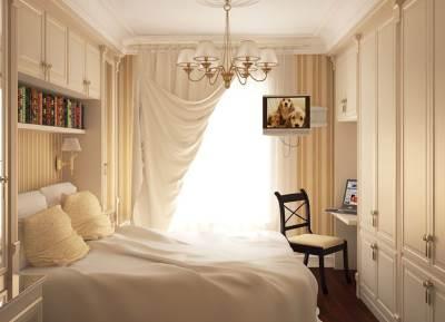Kak obustroit malenkuyu spalnyu 2 Как обустроить маленькую спальню