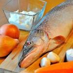 SHHuka v duhovom shkafu 150x150 Рыба маринованная с морковью и луком