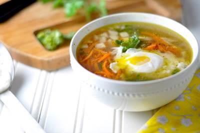 YAichno ovoshhnoy sup Яично овощной суп