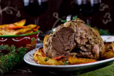 Zapechennoe myaso po prostomu Запеченное мясо по простому
