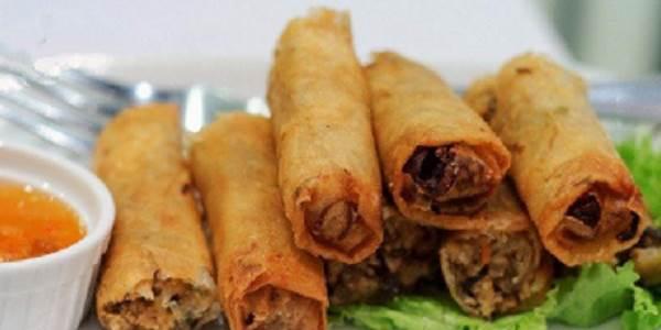 Poshagovyiy retsept pikantnyih rollov v risovoy bumage Пошаговый рецепт пикантных роллов в рисовой бумаге