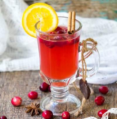 Klyukovka v apelsinah s vodkoy Клюковка с водкой в апельсинах