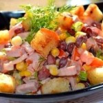 Salatik Ananasovyiy ray 150x150 Салатик из овощей и креветок на праздник