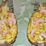 Ananas s krevetkami   150x150 Бутерброды Морские горячие с креветками