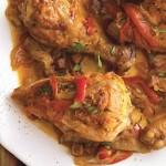 TSyiplenok s ovoshhami pod nezhnyim sousom po vengerski 150x150 Цыпленок под томатным соусом