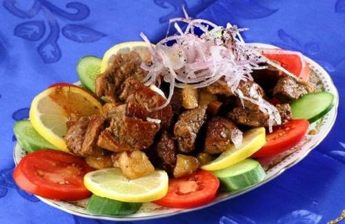Kebab v kazane Кебаб в казане