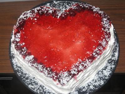 Tort   Lyubyashhee serdtse   Торт «Любящее сердце»