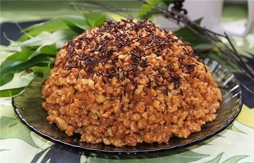 Tort iz pesochnoy gorki   Muraveynik   Торт из песочной горки «Муравейник»