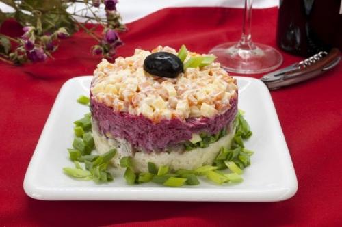 Salat dlya muzhchin   Navazhdenie   Салат для мужчин «Наваждение»