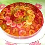 Tort zheleyno biskvitnyiy    Nezhnost strasti   150x150 Яркое суфле из чая каркаде
