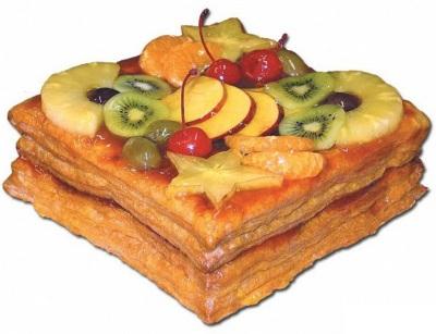 Tort postnyiy s nachinkoy iz limonnogo aromatnogo varenya Торт постный с начинкой из лимонного ароматного варенья