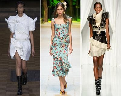 Modnyie platya 2017 osnovnyie trendyi Модные платья 2017   основные тренды