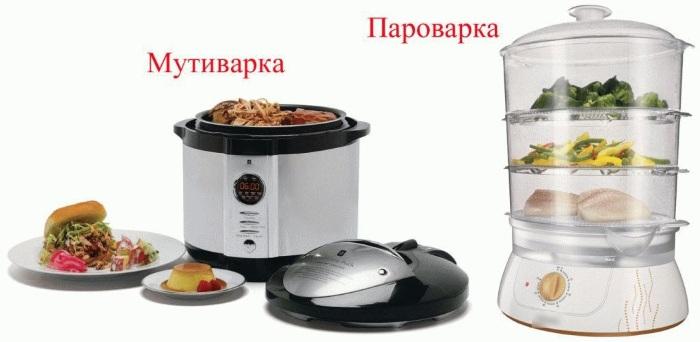 Raznitsa mezhdu parovarkoy i multivarkoy Разница между пароваркой и мультиваркой